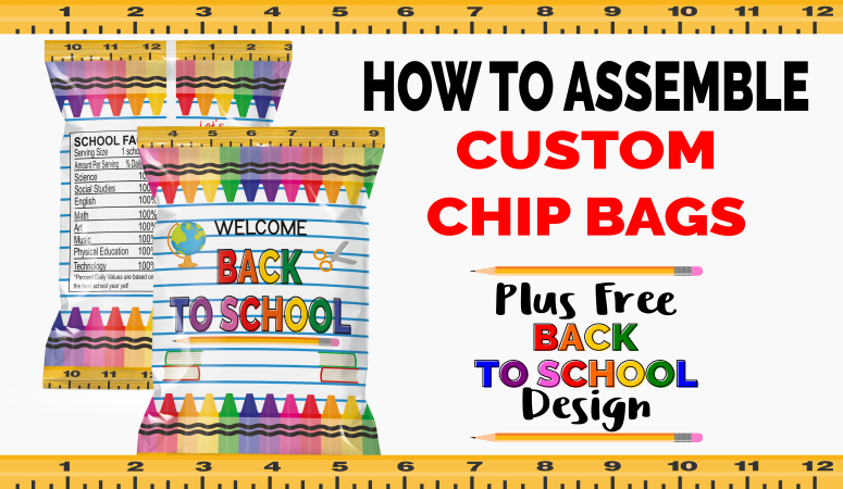 Free Back to School Favor Chip Bag Printable